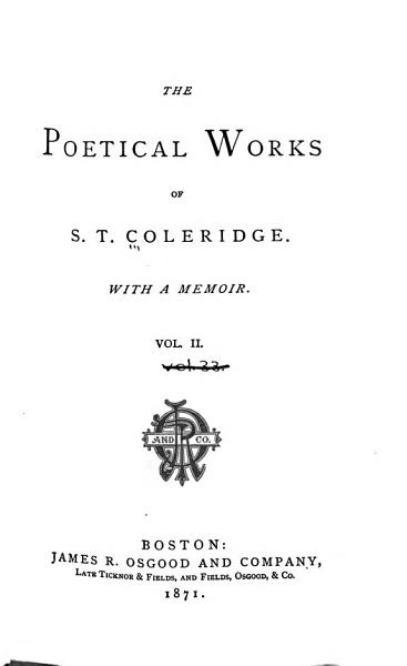 Download The Poetical Works of S T  Coleridge Book