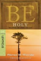 Be Holy  Leviticus  PDF
