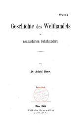 Geschichte des Welthandels im neunzehnten Jahrhundert: Bände 1-2