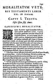 Bibliorum Moralitates: in duos Tomos digestae; Quibus Historiae cum figuris Veteris & Noui Testamenti ... suppeditantur, Volume 2