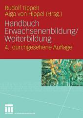 Handbuch Erwachsenenbildung/Weiterbildung: Ausgabe 4