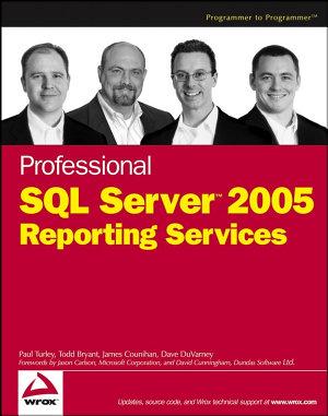 Professional SQL Server 2005 Reporting Services PDF