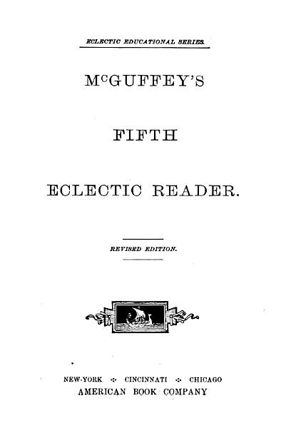 Download McGuffey s Fourth Eclectic Reader Book