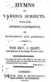 Hymns on Various Subjects, etc