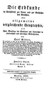 Die Erdkunde im Verhältniss zur Natur und zur Geschichte des Menschen: -6. Th., 2. Buch. Ostasien. 1832-1836