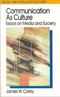 Communication as Culture PDF