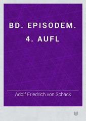 bd. Episodem. 4. aufl