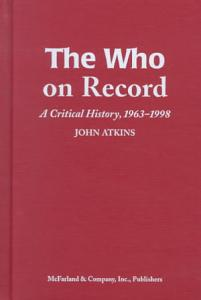 The Who on Record Book