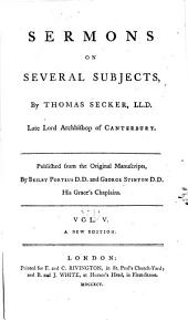 Sermons on several subjects: Volume 5
