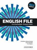 English File Third Edition Pre Intermediate Student Book  Uk  PDF