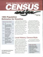 Census and You: Monthly News from the U.S. Bureau of the Census, Volume 30, Issue 3
