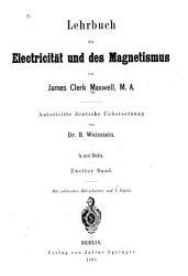 Lehrbuch der Electricit  t und des Magnetismus PDF