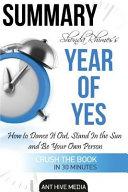 Summary Shonda Rhimes  Year of Yes PDF