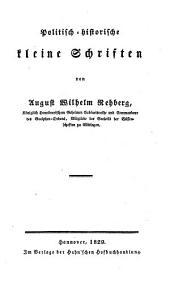 Politisch-historische kleine Schriften