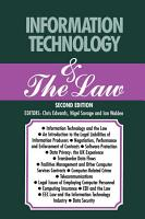 Information Technology   The Law PDF