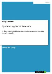 Synthesizing Social Research: A theoretical breakdown of the main theories surrounding social research.