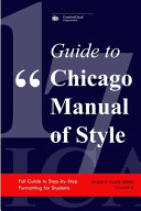Guide to Chicago Manual of Style