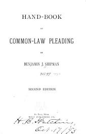 Hand-book of Common-law Pleading