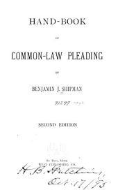 Hand-book of Common-law Pleading