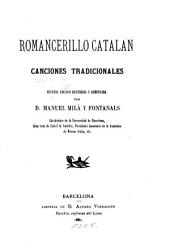 Romancerillo Catalan