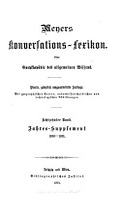 Meyers konversations lexikon PDF