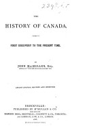 The History of Canada      Second Edition  Revised and Improved PDF