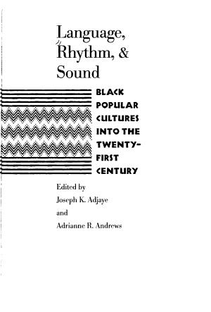 Language  Rhythm    Sound