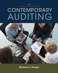 Contemporary Auditing Book PDF