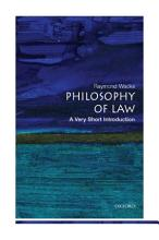 Philosophy of Law  A Very Short Introduction PDF