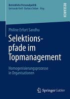 Selektionspfade im Topmanagement PDF