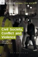Civil Society  Conflict and Violence PDF