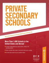 Private Secondary Schools: Traditional Day and Boarding Schools: Part II of V, Edition 31