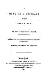 A Concise Dictionary of the Holy Bible