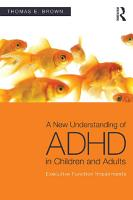 A New Understanding of ADHD in Children and Adults PDF