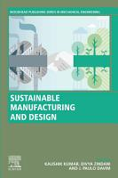 Sustainable Manufacturing and Design PDF