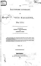 The Baltimore Literary and Religious Magazine ...: Volume 5