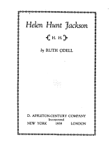 Helen Hunt Jackson  H H   PDF