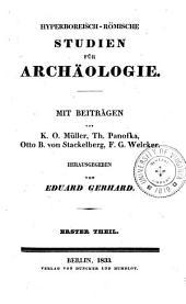 Hyperboreisch-römische studien für archäologie: Band 1