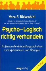 Psycho logisch richtig verhandeln PDF
