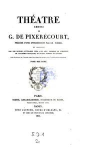 Theatre choisi precede d'une introduction par Ch. Nodier (etc.)