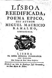 Lisboa reedificada, poema epico