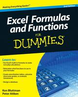 Excel Formulas and Functions For Dummies PDF