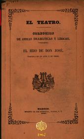 El hijo de don José: zarzuela en un acto, en verso