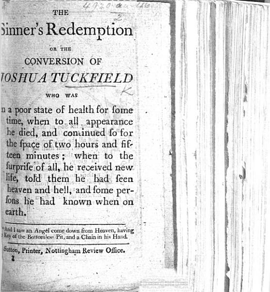 Download The Sinner s Redemption  Or the Conversion of Joshua Tuckfield  Etc Book