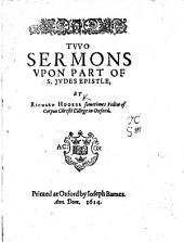 Two Sermons Upon Part of S. Judes Epistle