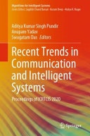 Recent Trends in Communication and Intelligent Systems PDF