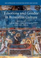 Emotions and Gender in Byzantine Culture PDF