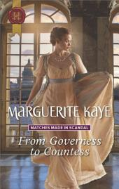 From Governess to Countess: A Regency Romance