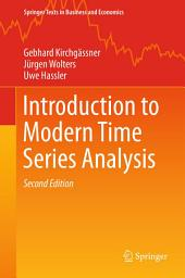 Introduction to Modern Time Series Analysis: Edition 2