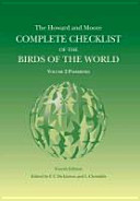The Howard and Moore Complete Checklist of the Birds of the World PDF